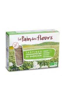 Tartine bio Sarrasin sans Gluten - Le pain des fleurs - Grand format - 300g