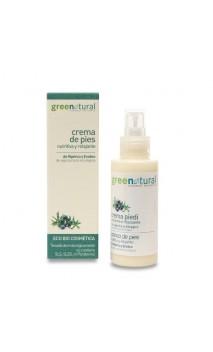 Crema de pies ecológica nutritiva y relajante - Greenatural - 100 ml.