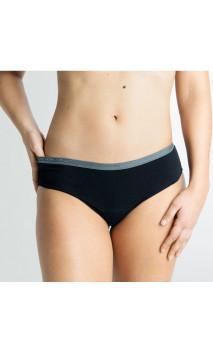 Clásica ESSENCE Gris - Moderado - Braga menstrual Algodón Orgánico GOTS  - Cocoro Intim - 1 unidad