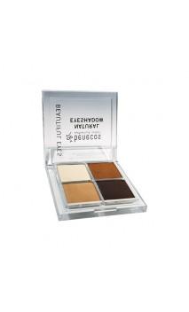 Sombra de ojos ecológica Quattro Coffee & Cream - Benecos - 8 gr.