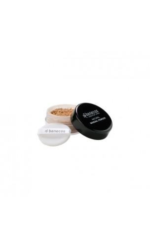Poudre libre minérale bio Medium Beige - Benecos - 10 gr.