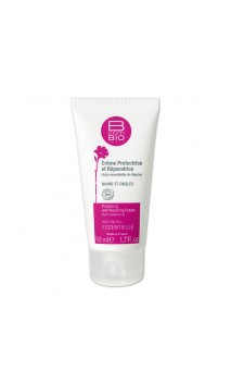 Crema de manos ecológica protectora y reparadora ESSENTIELLE - BcomBIO - 50 ml.