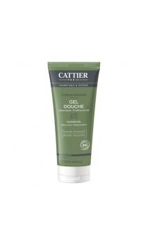 Gel de ducha ecológico para hombre Cabine de Bain - Cattier - 200 ml.