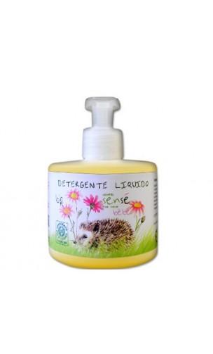 Gel de Ducha ecológico para bebé y niño con Aceite de Oliva, Aloe Vera y Caléndula BIO- Sensé
