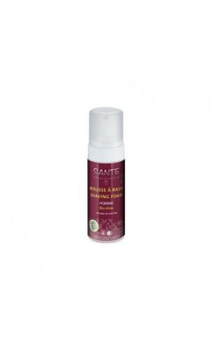 Espuma de afeitar ecológica con aloe vera - SANTE - 150 ml.