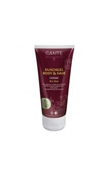 Shampooing & Gel douche BIO à l'aloe vera - SANTE - 200 ml.