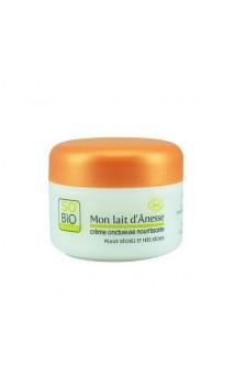 Crème nutritive bio - Mon Lait d'Anesse So'Bio Étic - 50 ml.