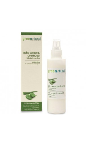 Lait corporel BIO crémeux - Greenatural - 150 ml.