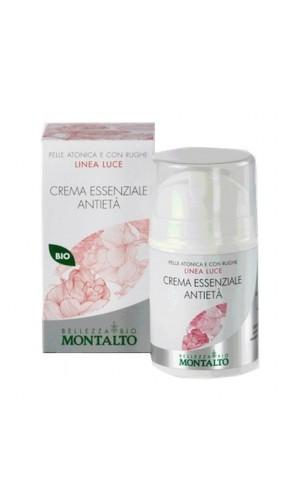 Crème essenziale anti-âge BIO - MONTALTO - Linea Luce - 50 ml.