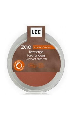 Recharge blush bio - ZAO - Brun Orange - 321