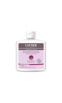 Shampooing bio au Bambou pour cheveux secs - Cattier - 250 ml.
