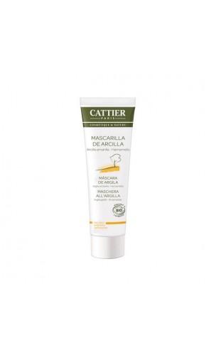 Masque BIO à l'argile jaune - Cattier - 100 ml.