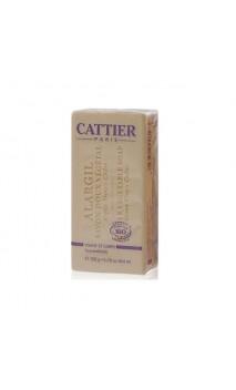 Jabón vegetal ecológico Alargil para pieles grasas - Cattier - 150 gr.