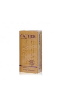 Savon végétal bio Argimiel pour peaux normales/mixtes - Cattier - 150 gr.