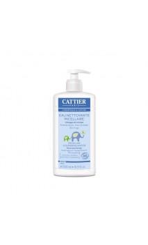 Eau micellaire nettoyante BIO pour bébé - Cattier - 500 ml.