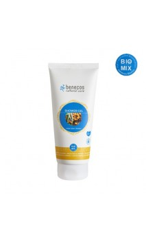 Gel douche BIO Enjoy Your Shower Argousier & Orange - Benecos - 200 ml.
