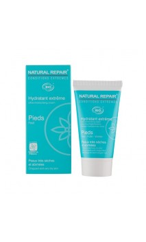 Crema de pies ecológica reparador extremo - Alphanova Natural Repair - 50 ml.