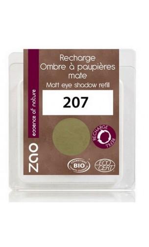 Recarga sombra de ojos ecológica - Vert olive - Mate - ZAO - 207