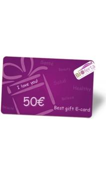 Carte Virtuelle Cadeau Bio 50