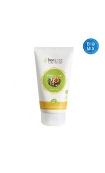 Lotion corporelle bio Love your skin Argousier & Orange - Benecos - 150 ml.