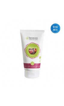 Lotion corporelle bio Love your skin Grenade & Rose - Benecos - 150 ml.