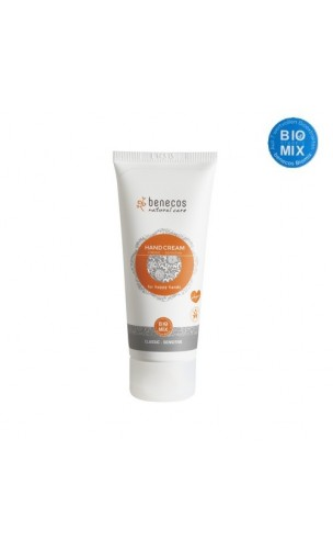 Crème mains bio For happy hands Classic - Benecos - 75 ml.