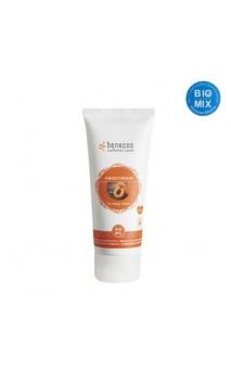 Crema de manos ecológica For happy hands Albaricoque & Flor de saúco - Benecos - 75 ml.