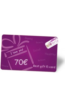 Carte Virtuelle Cadeau Bio 70