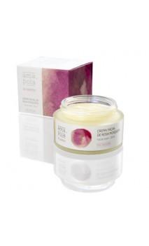 Crème visage bio à la Rose Musquée - Amapola - 50 ml.