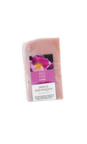 Savon BIO à la Rose Musquée - Amapola - 100 gr.