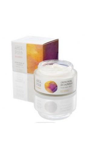 Crème visage BIO à la calendula - Amapola - 50 ml.