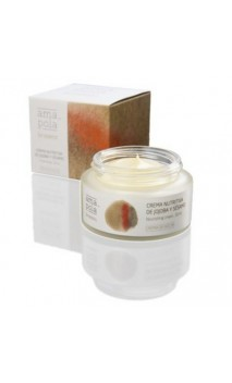 Crema de noche nutritiva ecológica Jojoba y Sésamo - Amapola - 50 ml.