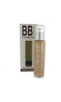 BB Cream bio Acide Hyaluronique (sable) - Naturado en Provence - 50 ml.