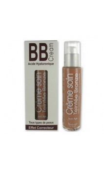 BB Cream bio Acide Hyaluronique (bronze) - Naturado en Provence - 50 ml.