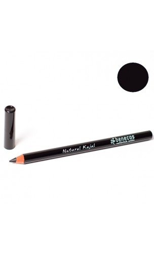dcf99224e Lápiz de ojos ecológico - Kajal negro - Benecos - 1,13 gr. - BIOferta