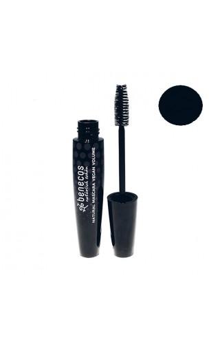 Mascara bio végétalien Volume Noir - Benecos - 10 ml.