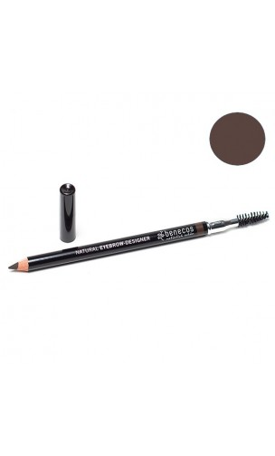 Crayon sourcils bio Brown - Benecos - 1,13 gr.