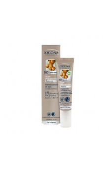 Crema contorno de ojos ecológica age protection - LOGONA - 15 ml.