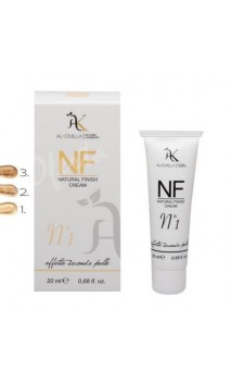 NF Crème teintée bio couleur N 1 (Natural Finish Cream n1) - Alkemilla - 20 ml.