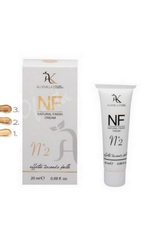 NF Crème teintée bio couleur Nº 2 (Natural Finish Cream nº 2) - Alkemilla - 20 ml.