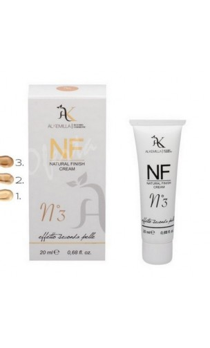 NF Crème teintée bio couleur Nº 3 (Natural Finish Cream nº 3) - Alkemilla - 20 ml.