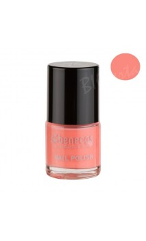 Vernis à ongles naturel - Peach sorbet - Benecos - 5 ml.