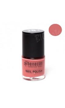 Vernis à ongles naturel - Rose passion - Benecos - 9 ml.