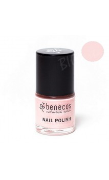 Vernis à ongles naturel - Sharp rose - Benecos - 5 ml.