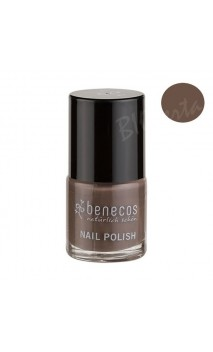 Vernis à ongles naturel - Taupe temptation - Benecos - 9 ml.