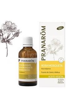 Huile de Rose Musquée - Huile végétale BIO - Pranarôm - 50 ml.