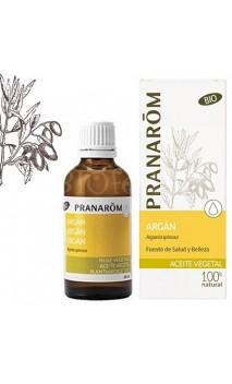 Huile d'Argan - Huile végétale BIO - Pranarôm - 50 ml.