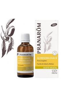 Aceite de Almendra dulce - Aceite vegetal ecológico - Pranarôm - 50 ml.