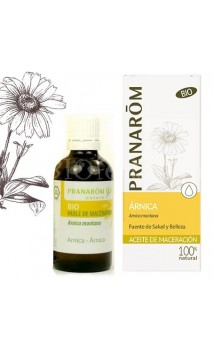 Huile d'Arnica - Huile de macération BIO - Pranarôm - 50 ml.