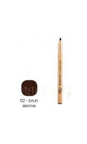 Crayon pour les Yeux BIO 02 Brun sienne - So'Bio Étic